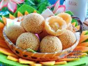 Bếp Eva - Học cách làm bánh cam thơm ngon mềm trong, giòn ngoài ngon hơn ngoài hàng