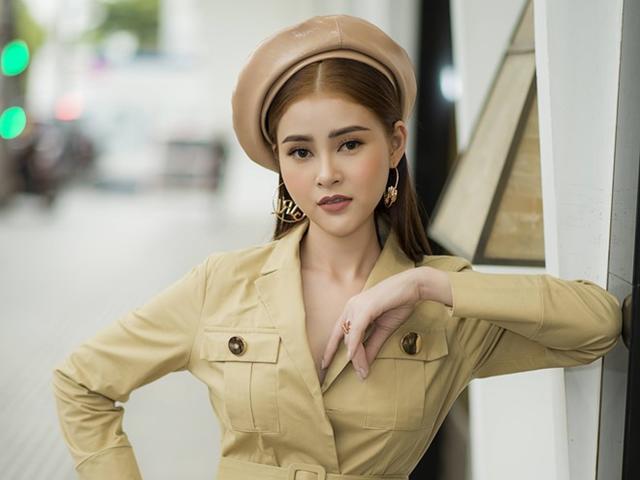 Á Hậu Lý Kim Thảo gây bất ngờ khi dự sự kiện với trang phục lấy cảm hứng quân nhân