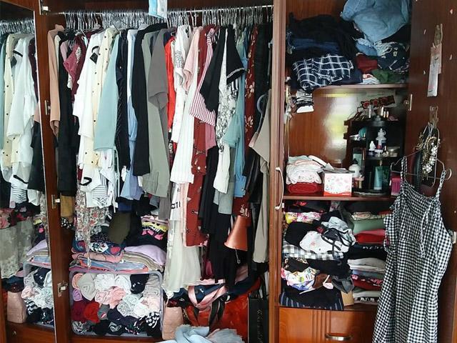 Cô gái Việt... sập tủ vì quá nhiều đồ vẫn than không có gì mặc bị trị cao tay!