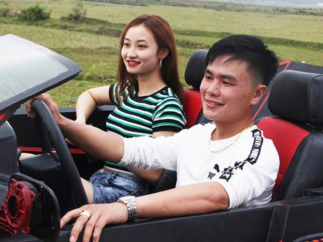 Độc lạ: 2 trai Hà Tĩnh gây sốt khi biến đồng nát thành siêu xe mui trần đẹp mê ly