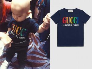 Huyền Baby nổi tiếng sang chảnh, bảo sao quý tử khi nào cũng diện áo hơn chục triệu đồng