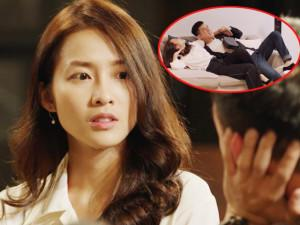 Hậu Duệ Mặt Trời Việt: Trước mặt mẹ, Khả Ngân khóc lóc đòi bạn trai cởi áo, ngủ với mình