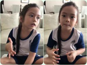 """Nghe con gái Đoan Trang """"bắn"""" tiếng Anh, 2 bà mẹ đình đám showbiz Việt phải khen lập tức"""