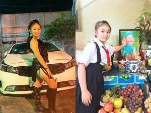 10 tuổi, con gái nuôi cố nghệ sĩ Khánh Nam tậu xe hơi từ tiền cát-xê, xinh như hoa hậu