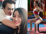 """Giảm 11kg sau sinh, bạn gái hotgirl của Hồ Việt Trung tự tin khoe dáng đẹp  """" bỏng mắt """""""