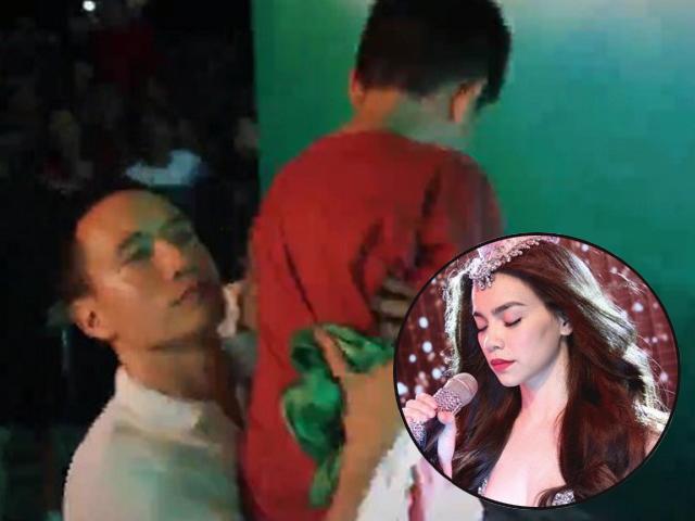 Mẹ bỉm sữa bất ngờ trước khoảnh khắc người tình Hà Hồ có hành động lạ với con trai cô
