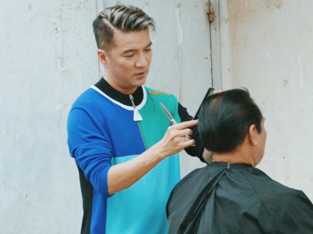 Đàm Vĩnh Hưng hoá thợ cắt tóc, hội ngộ dàn nghệ sĩ cực hot trong MV vì cộng đồng