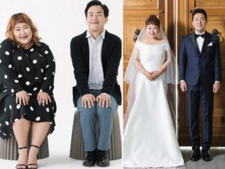 """Quyết tâm giảm 30kg sau 2 năm, cô gái này hoàn toàn """"lột xác"""" trong bộ ảnh cưới"""