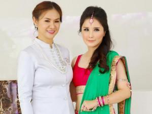 2 Hoa hậu Thái Lan và Malaysia gây xôn xao khi xuất hiện tại Trà Vinh
