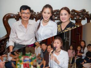 Phương Oanh Quỳnh Búp Bê khoe bố mẹ ở Hà Nam cùng giọng hát gây bất ngờ
