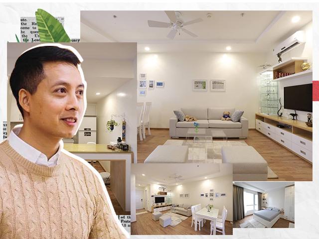 Ông bố trẻ mạnh tay chi 150 triệu cải tạo chung cư, 3 năm sau ai nhìn vào cũng choáng