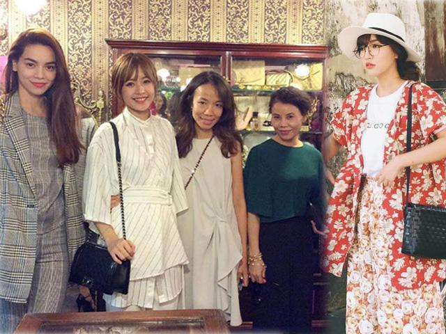 Hồ Ngọc Hà giàu vẫn dẫn mẹ đi mua hàng thùng, Bích Phương cũng mê đồ chỉ vài chục nghìn