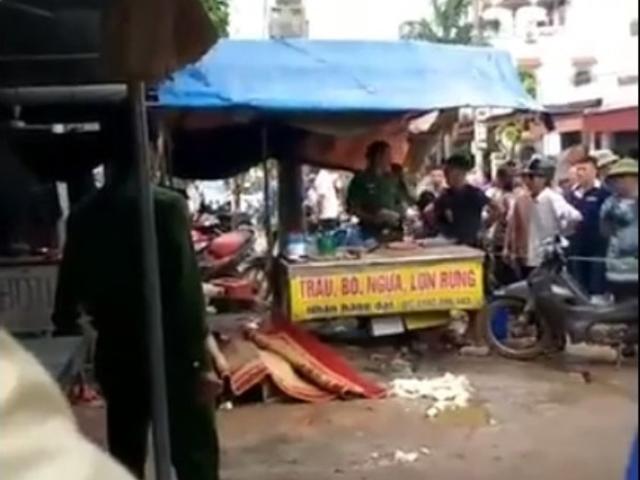 Nguyên nhân tàn độc vụ cô gái bán đậu xinh đẹp bị bắn chết giữa chợ