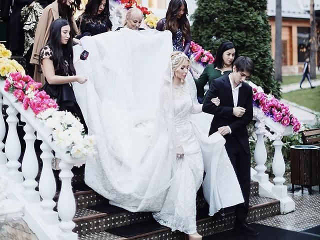 Đám cưới gây sốc của cô gái 9X và ông trùm dầu khí, riêng váy cưới đã ngót 10 tỷ