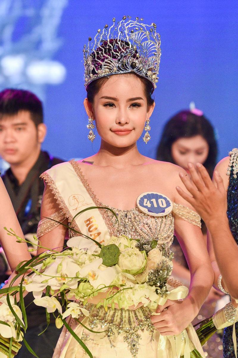 Xuất sắc vượt qua 32 thí sinh khác, tối 28/10/2017, Lê Âu Ngân Anh đã chính thức đăng quang ngôi vị Hoa hậu Đại dương Việt Nam 2017.