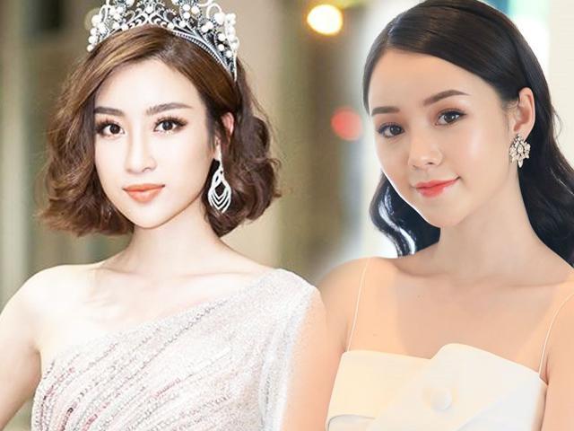Đại chiến gái ngành Quỳnh Búp Bê quá khốc liệt, Hoa hậu Đỗ Mỹ Linh phải... xin tha cho Đào