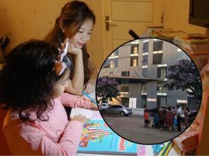 Làm mẹ - MC Diệp Chi hoảng sợ kể chung cư cô ở có bé 5 tuổi rơi từ ban công tầng 7
