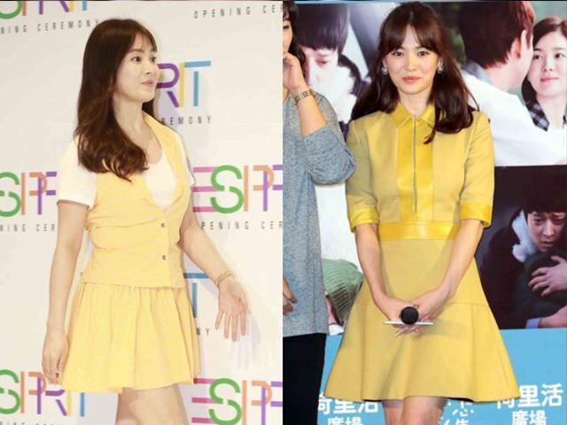 Chọn nhầm đồ, đẹp như Kim Tae Hee, Song Hye Kyo cũng lộ ngay khuyết điểm