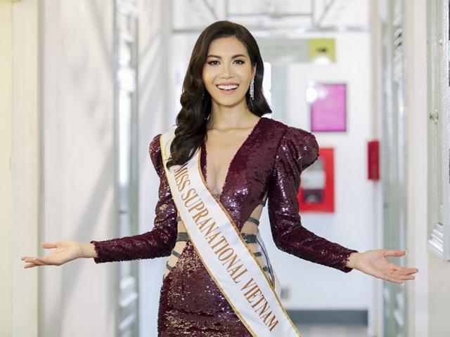 Minh Tú 2 mặt: nữ hoàng showbiz và cô gái đời thường trong clip gửi Miss Supranational