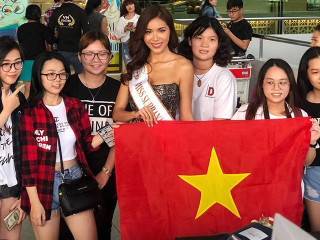 Ngựa chiến Minh Tú chính thức lên đường thi đấu tại Miss Supranational 2018