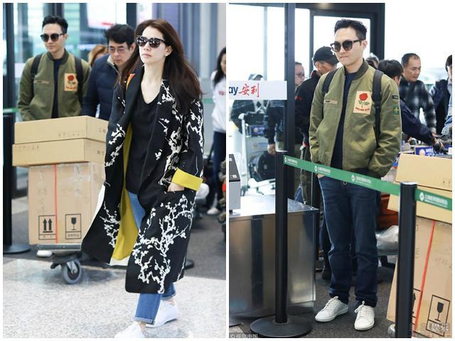 Đang được ngưỡng mộ nhất Cbiz, vợ chồng Viên Vịnh Nghi bất ngờ to tiếng cãi nhau ở sân bay