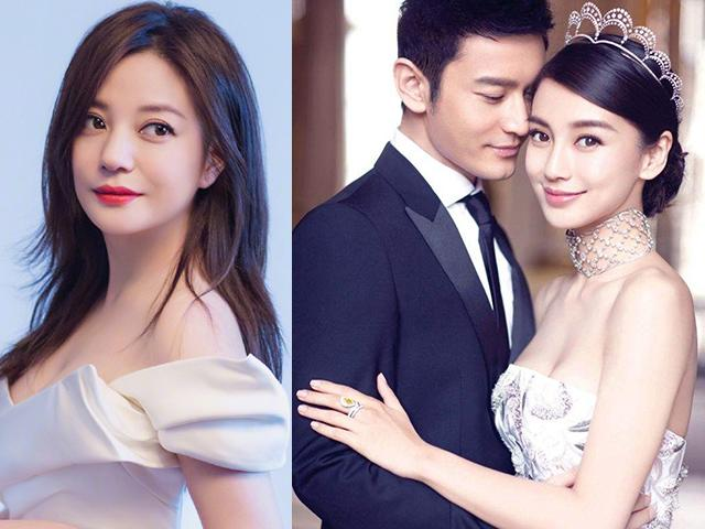 Between the news about the divorce divorced Huynh Xiaoming, Angelababy, another woman suddenly became involved