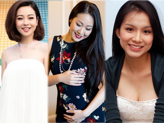 Chị em cứ lo không được trang điểm khi mang bầu, Thùy Lâm và các Hoa hậu này thì khác!