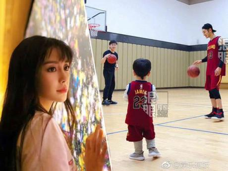 Giải trí - Huỳnh Hiểu Minh ly hôn, con trai ở với bố: Động thái đầu tiên của Angelababy gây bất ngờ