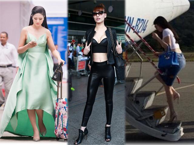 Chuyên gia cảnh báo mặc như Ngọc Hân, Ngọc Trinh mà lên máy bay thì vô cùng nguy hiểm