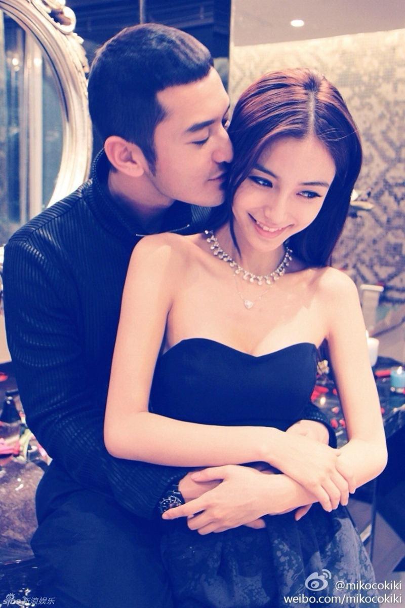 Huỳnh Hiểu Minh và Angelababy là cặp đôi ngay từ khi bắt đầu hẹn hò đã gây ồn ào. Cả hai đến với nhau khi Huỳnh Hiểu Minh đã là hoa có chủ.