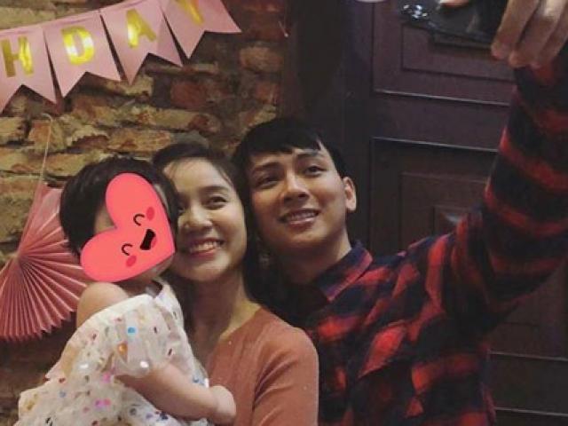 Tuyên bố ngừng hát để yên bề gia thất, Hoài Lâm cùng bạn gái tổ chức thôi nôi cho con?