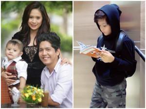 Mẹ đang bầu lần 2, ngỡ ngàng vì con trai 10 tuổi của diễn viên Thanh Thúy giờ quá lớn