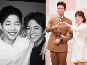 """Biết tin đàn em đóng cặp cùng bà xã Song Hye Kyo, Song Joong Ki """"dằn mặt"""" dễ thương"""