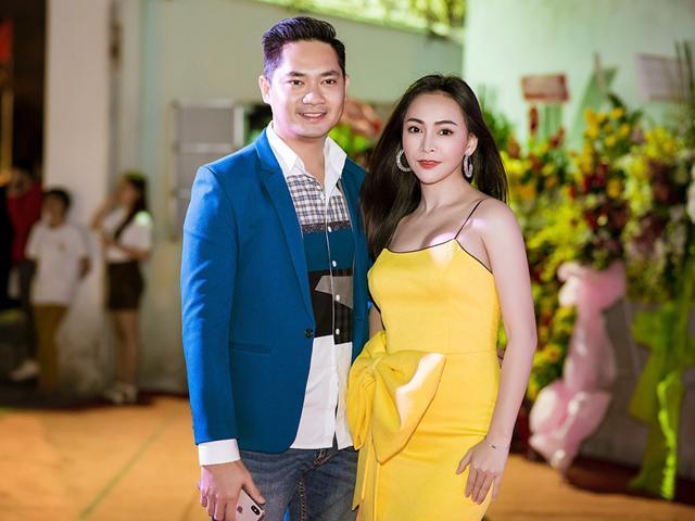 Minh Luân gây chú ý khi ôm eo thân thiết với Mỹ Ngọc Bolero tại sự kiện