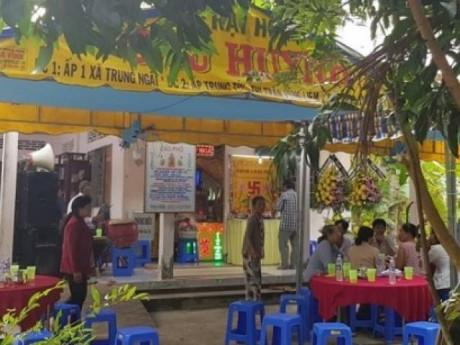Vụ cháy xe bồn làm 6 người chết ở Bình Phước: Xóm nghèo ảm đạm, trắng màu khăn tang