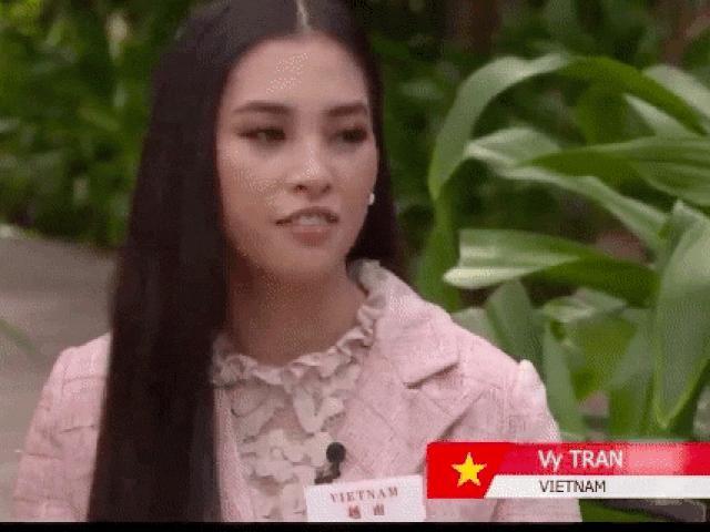 Từng bị chê thậm tệ vì dở ngoại ngữ, Tiểu Vy bất ngờ bắn tiếng Anh tại Miss World 2018