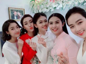 Sao Việt 24h: Cuối cùng, chồng hơn 16 tuổi cao 1m82 của Á hậu Thanh Tú đã lộ diện