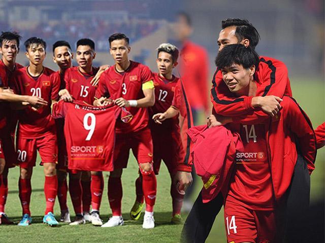 Việt Nam thắng đậm giành ngôi nhất bảng nhưng khán giả lại trào nước mắt vì hình ảnh này