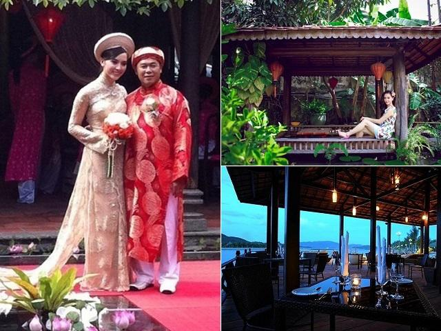 Mãn nhãn với nhà vườn siêu khủng của Á hậu Dương Trương Thiên Lý và chồng giàu, gấp đôi tuổi