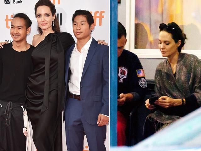 Giữa tin bị Pax Thiên, Maddox bỏ rơi, Angelina Jolie bị bắt gặp tán tỉnh thầy giáo của con gái