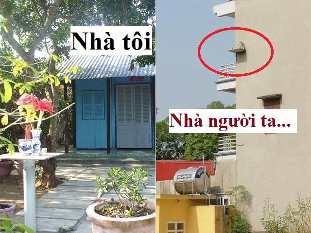 Đẳng cấp xây nhà Việt Nam: Mang bàn thờ ra ngoài đặt để nắng cúng, mưa thôi… khỏi cúng