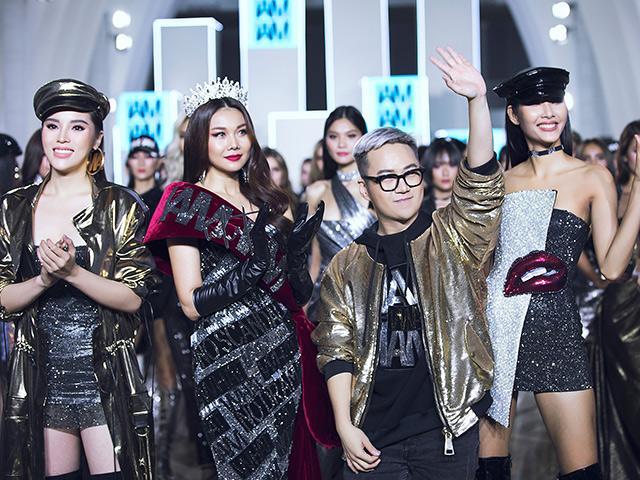Sàn catwalk hội tụ 3 người đẹp bom tấn của Vbiz: Thanh Hằng, Kỳ Duyên, Hoàng Thùy