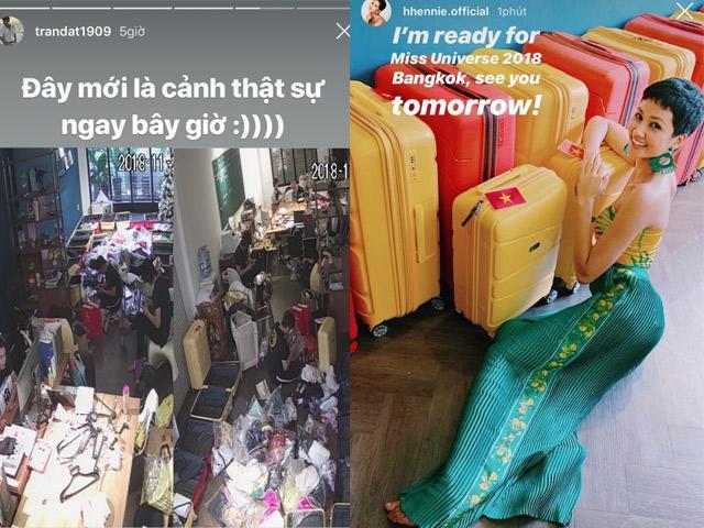 80 bộ đồ với 12 chiếc vali, H Hen Niê chính là Hoa hậu chuẩn bị đồ hoành tráng nhất