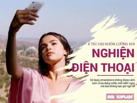 """Tác hại khôn lường của việc """"nghiện"""" sử dụng smartphone cả ngày - chỉ trừ lúc ngủ"""