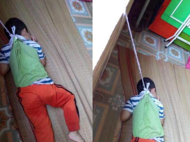 Bé trai bị buộc dây treo lên cửa sổ lớp khiến MXH giận dữ: Tiết lộ gia cảnh bất ngờ