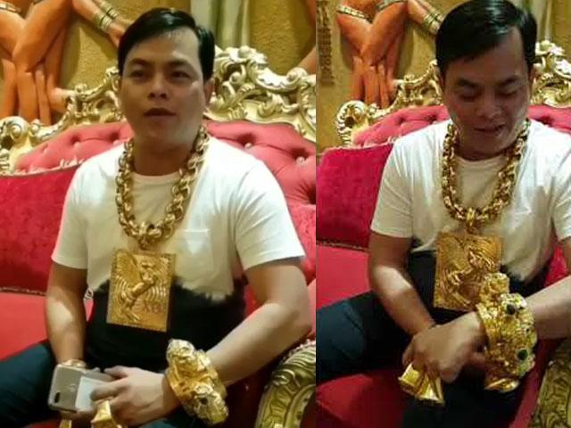 Tin tức 24h: Đại gia đeo vàng nhiều nhất Việt Nam vừa tậu thêm vòng vàng khủng 4 kg