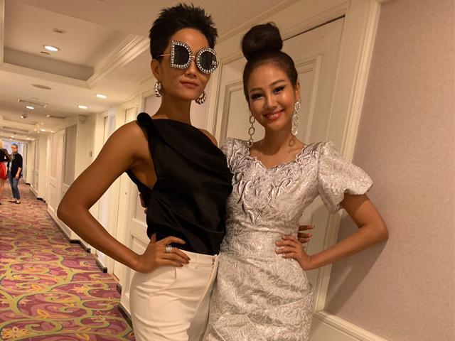 H Hen Niê ăn mặc đẹp, chặt chém dàn thí sinh Miss Universe 2018 không thương tiếc