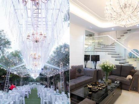 """Chịu chơi như Quang Hà, chi tiền """"khủng"""" tổ chức tân gia nhà 20 tỷ hoành tráng hơn đám cưới"""