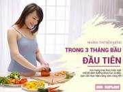 Clip Eva - Bà bầu không nên ăn gì trong 3 tháng đầu thai kỳ?