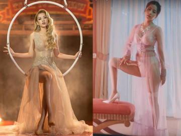 """Ra MV, hát hay hơn chưa không biết, nhưng Chi Pu cứ thế mà """"lột"""" bớt quần áo trên người"""